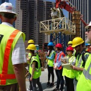 OHIP construction tour