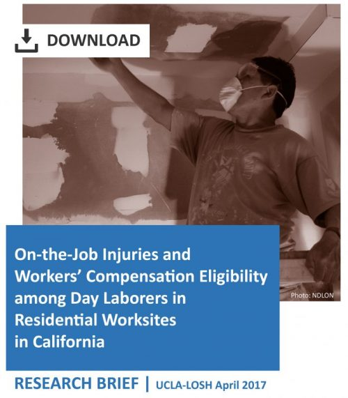Day Laborers and Workers' Compensation in Residential Workplaces Research Brief